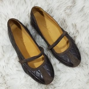Cole Haan Nike Air Bria quilted mary jane flats 7